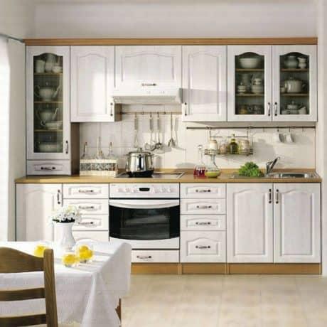 Кухня с фасадами МДФ древесная текстура - стоимость от 31 000р.-